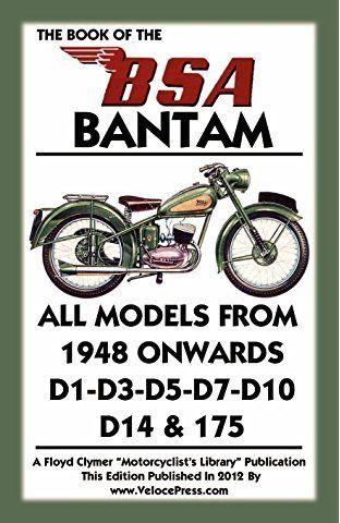 BOOK OF THE BSA BANTAM
