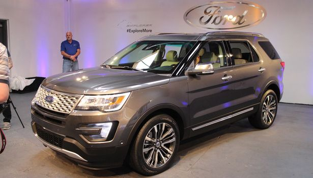 2016 Ford Explorer - about