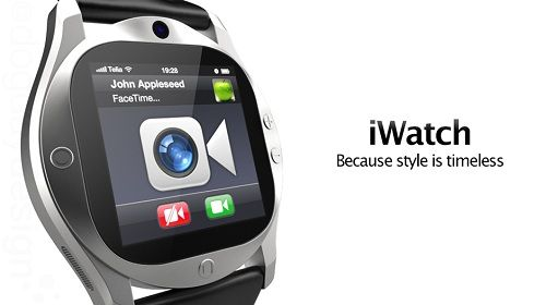 A Concept Design For Apple's iWatch