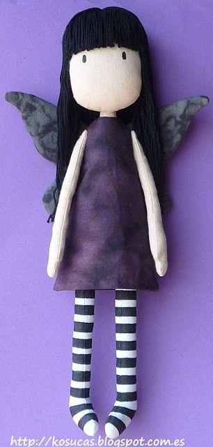 Kosucas : Mi muñeca Gorjuss.