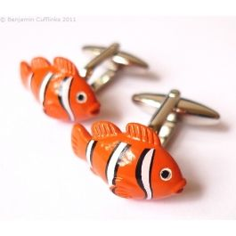 Clown Fish 2 Cufflinks