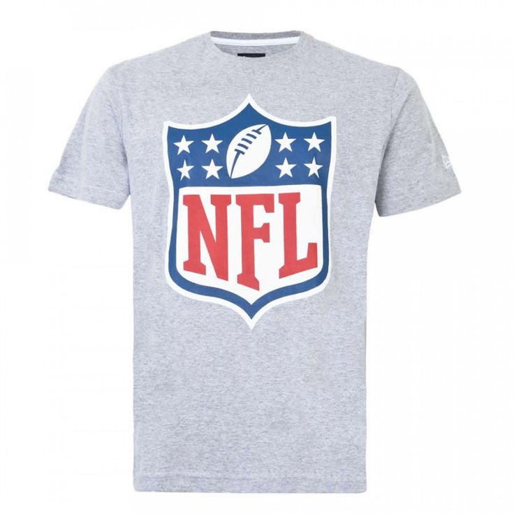 Camiseta NFL Logo Cinza - New Era