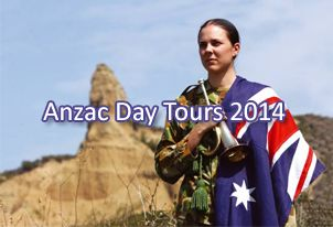 http://www.anzactoursturkey.com/ Anzac Day in Gallipoli 2014 is a busy time with many tour groups visiting the area as well as all the setting up for the commemorations. That's why we get in early and all tours (except for 2, 4, 6 Day Kusadasi and 9 Day Anzac Tours) include a fully guided tour on the 23rd or 26th April when it is least busy. Then you get a nice relaxing day in a luxury thermal resort and holiday village the day before Anzac Day to prepare for the big day itself.