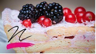 Joghurtos süti - sütés nélkü VIDEÓ Takács Nóra - YouTube