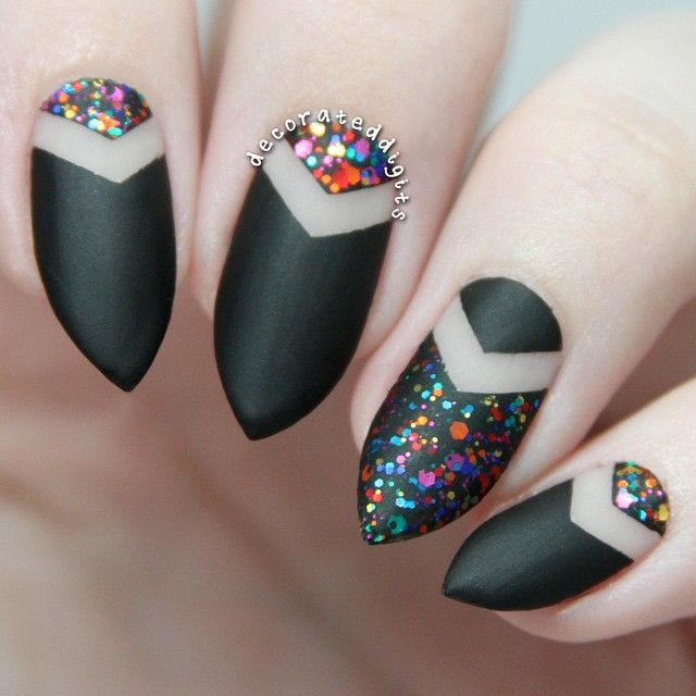 Funky Nail Art Ideas: Here's Another Picture Of The Mani I Posted Yesterday! I