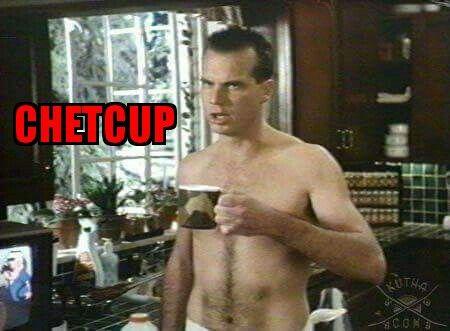 Chet Weird Science Chet Cup Coffee Ketchup Catsup .. Weird Science #Weird #Science #WeirdScience #Chet #Toadie #John #Hughes #JohnHughes  #80s #Eighties #Movie #Film shared by @Neferast #Neferast