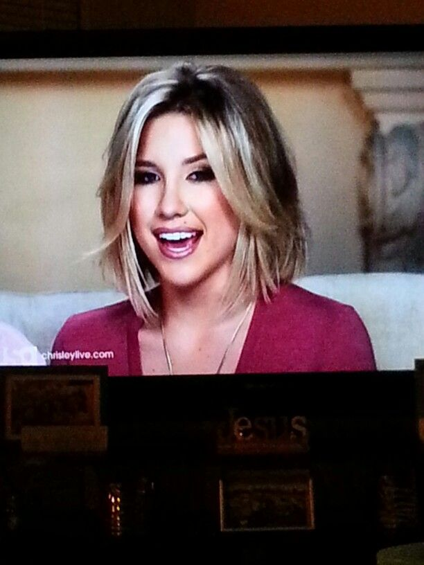 Savannah Chrisley Short Hair