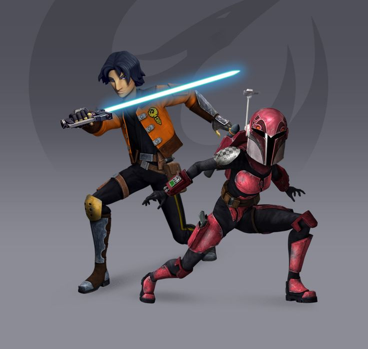 Ezra + Sabine - Rebels Season 3 Redesign (Fan Art) by ...
