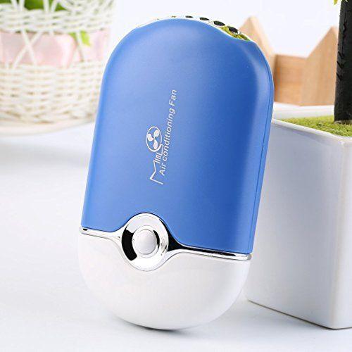 Tsing Mini Ventilateur USB Rechargeable Portable Air Conditionné Climatiseur Voyage Fan De Poche Refroidisseur Petit Purificateur