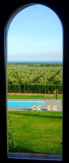 Het uitgestrekte landgoed van Montbrio Belvedere in Catalonië