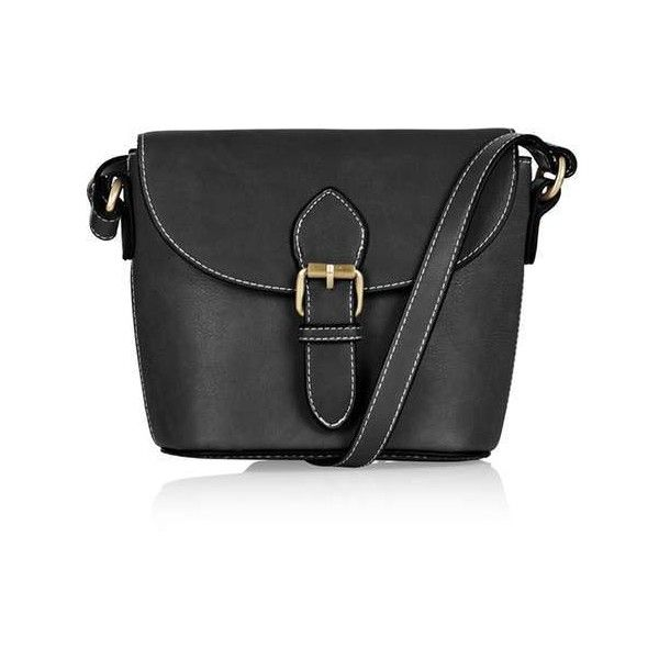 TopShop Structured Vintage Crossbody ($31) ❤ liked on Polyvore featuring bags, handbags, shoulder bags, vintage purses, cross body, structured shoulder bag, pu handbag and topshop purses