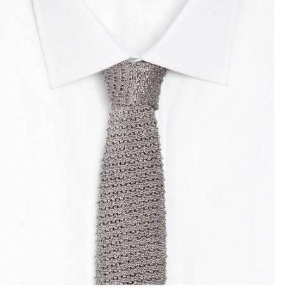 Ralph Lauren crochet silk tie