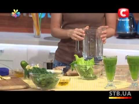Супервитаминные зеленые коктейли из «сорняков» - Рецепт от Все буде добр...