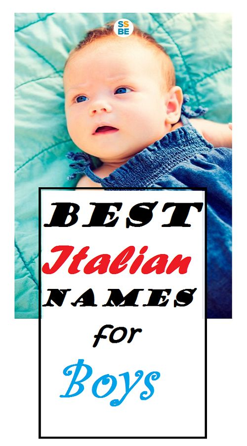 Italian Boy Name: 230 Best Images About Baby Names On Pinterest