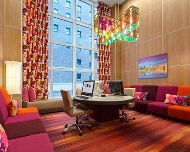 Hampton Inn Manhattan Times Square Central - Business center