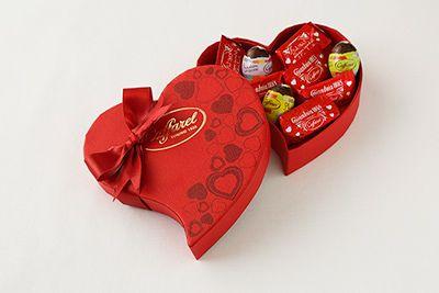 カファレルのバレンタインチョコレート、真っ赤なパッケージの新作「ラブ・ジャンドゥーヤ」