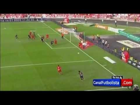 Falcao amazing scissor goal. Via @anlfcfan