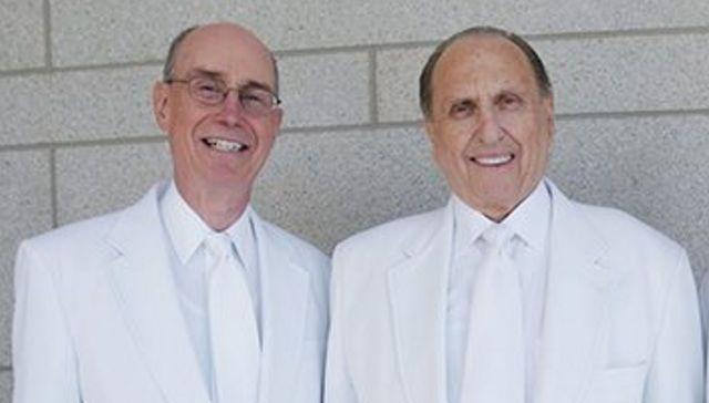 El presidente Eyring publicó una conmovedora foto de el y el presidente Monson. Facebook Presidente Henry B. Eyring