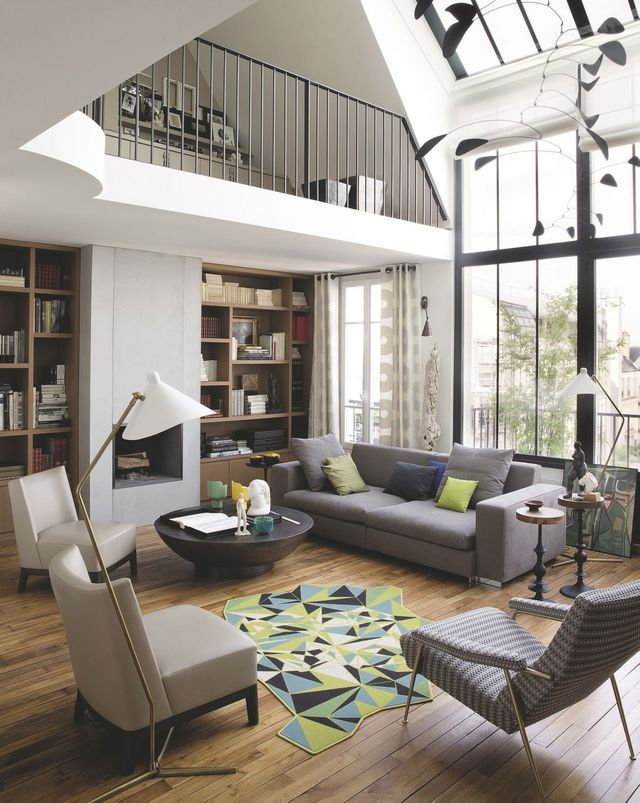 Appartement paris d co et design 12 photos inspirantes design photos et - Maisons et appartements magazine ...