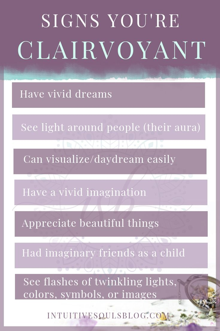 Clairvoyance Signs How Many Do You Have If These Signs Resonate With You Visit Intuitives Clairvoyant Psychic Abilities Healing Quotes Spiritual Clairvoyant