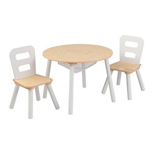 Kids Table And Chairs Set Activity Dining Room Little Party Play White  #Unbranded
