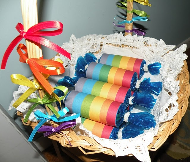 65 Best Images About First Birthday- Rainbow Theme! On