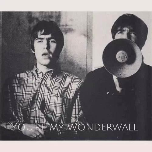 The best band ever http://www.escribircanciones.com.ar/ #musica #canciones #rock #letras #wonderwall -  #oasis