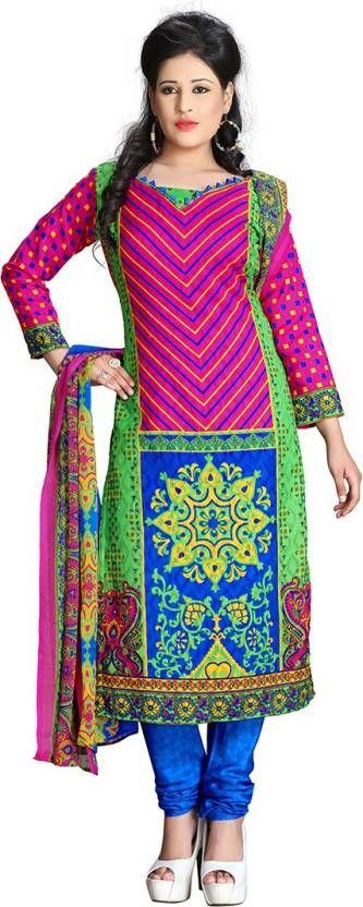 Z Hot Fashion Cotton Printed Salwar Suit Dupatta Material