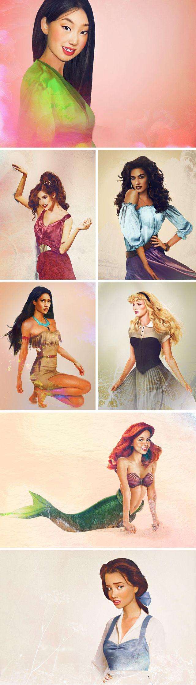 Disney Princess come to life!