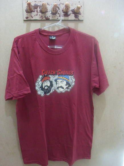 Camiseta Cheech e Chong 100% algodão Tamanho G R$ 49,00  www.elo7.com.br/dixieaerte