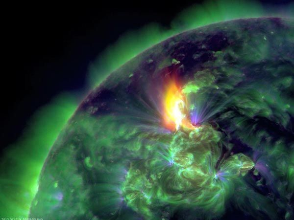 New Aurora Pictures: Solar Storms Trigger Northern Lights: Geomagnetic Storm, Northern Lights, Earth, Storms, Solar Flares, Solar Storm, Science