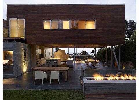modernIndooroutdoor, Architectureinterior Design, Interiors Architecture, Indoor Outdoor, Modern Architecture, Outdoor Fireplaces, Modern Home, Modern Interiors, Modern House