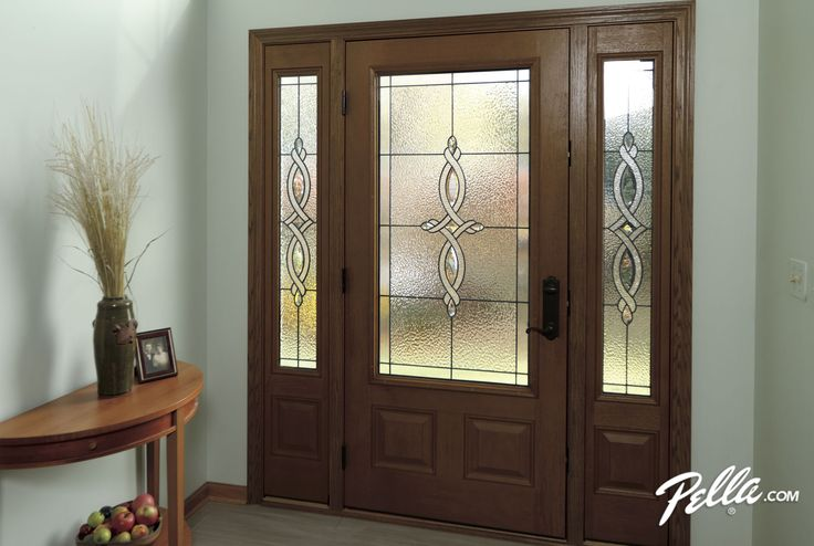 A Fiberglass Pella Door Adds Character And Curb Appeal