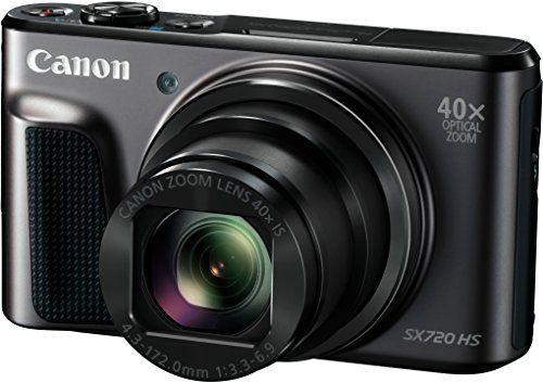 Canon Powershot SX720 HS Appareils Photo Numériques 21.1 Mpix Zoom Optique 40 x: Zoom 80x de grande qualité Capteur CMOS 20,3 millions de…