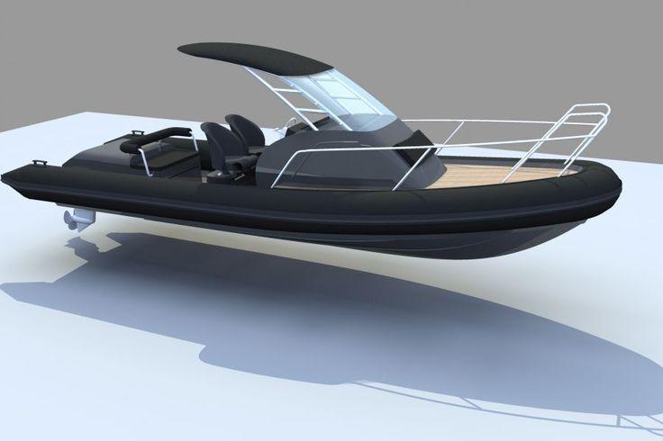 7.5m cabin rib - Boat Design Net Gallery
