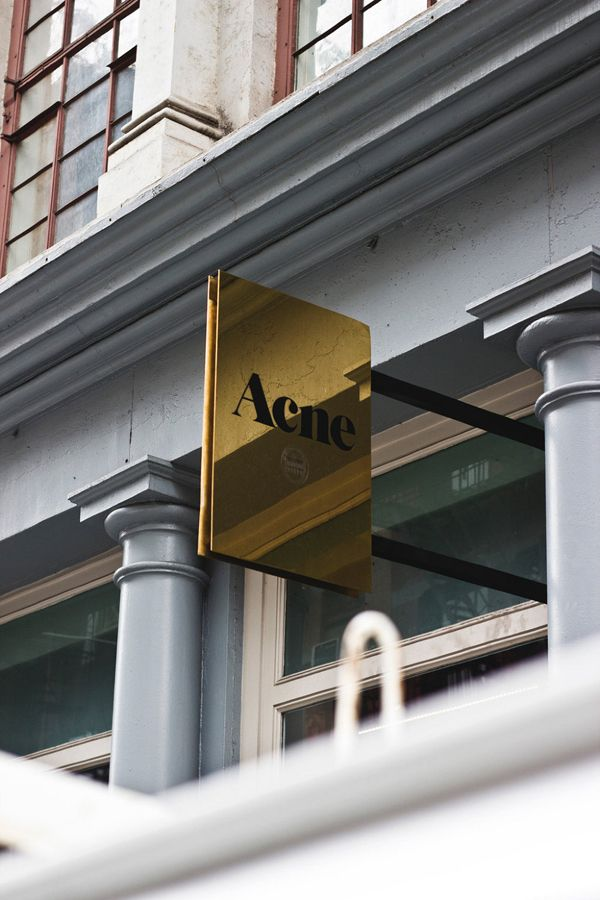 Acne store. I wrote a paper about this brand my second semester of college.