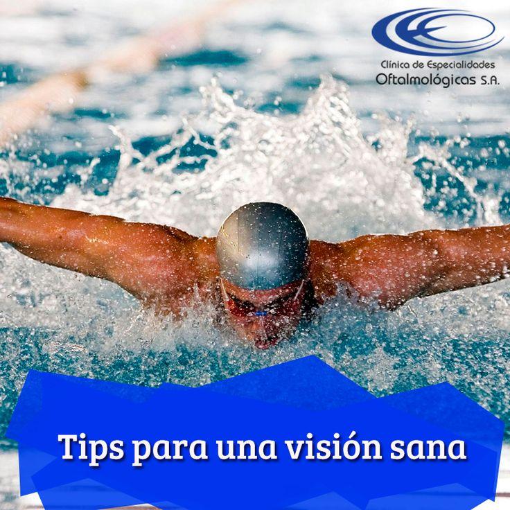 Recuerda retirar los lentes de contacto al momento de practicar deportes como la natación o el boxeo #TipsCEO www.ceomedellin.com Foto vía http://goo.gl/A435WJ