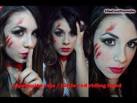 ▶ Caperucita roja maquillaje / Little red riding hood makeup - YouTube