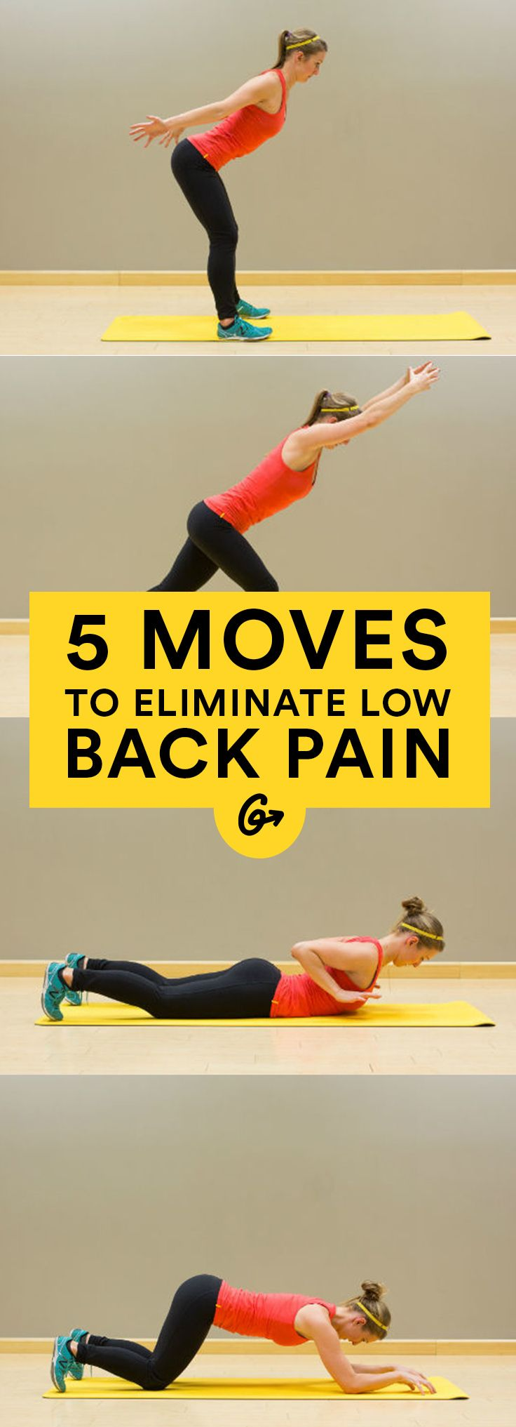 Strengthening your back is essential for preventing and managing pain. Practice these five... http://greatist.com/move/exercises-to-help-chronic-back-pain