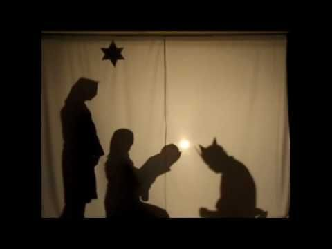 Nativity Shadow Drama ( very cool idea for a christmas play!)