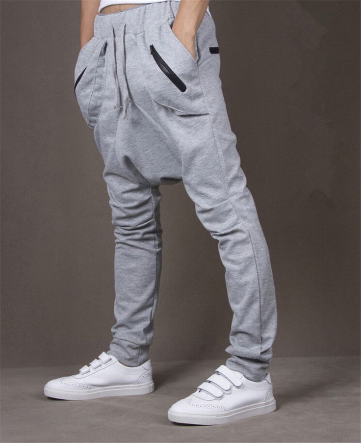 2015 High Quality Cotton Sweatpants Men Tide Low Crotch Pants Emoji Joggers Casual Fashion Men Pants Sport-in Active Pants from Men's Clothing & Accessories on Aliexpress.com | Alibaba Group
