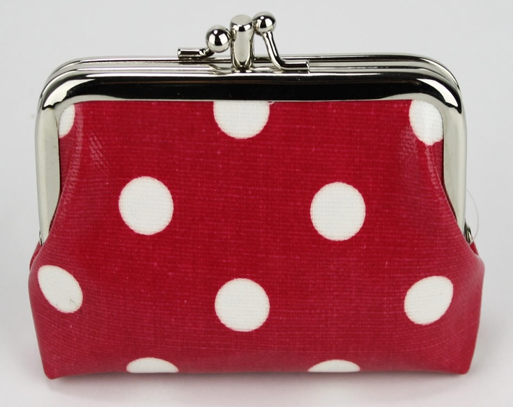 designer coin purse pd1e  Womens Designer Inspired Pink Spotty Coin Purse