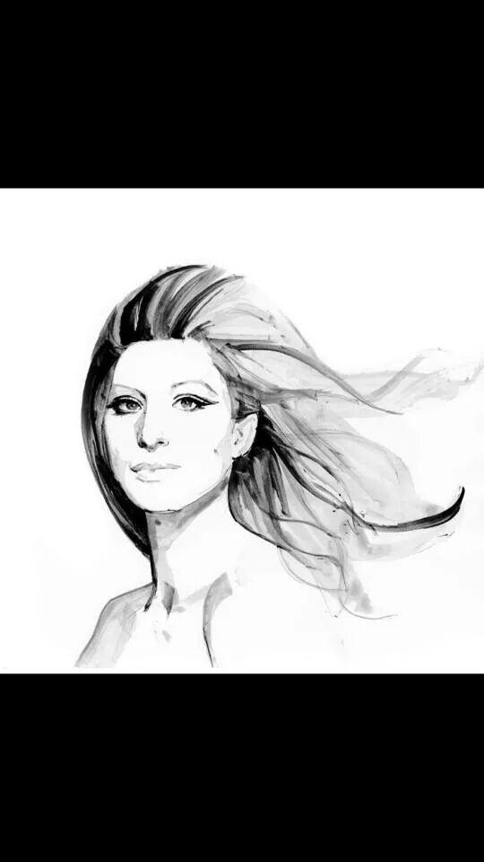 Lyric barbra streisand hello dolly lyrics : 204 best Barbra Streisand art images on Pinterest | Barbra ...