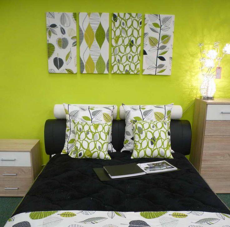 10 best alissa 39 s room images on pinterest - Lime green walls in bedroom ...