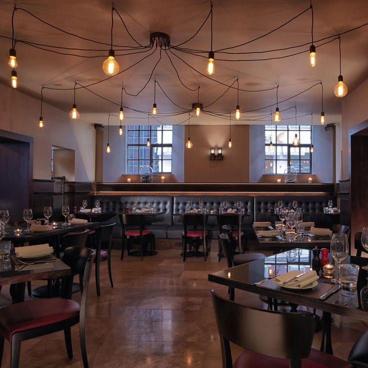 Custom Filament at Chez Mal Bar at Malmaison Leeds