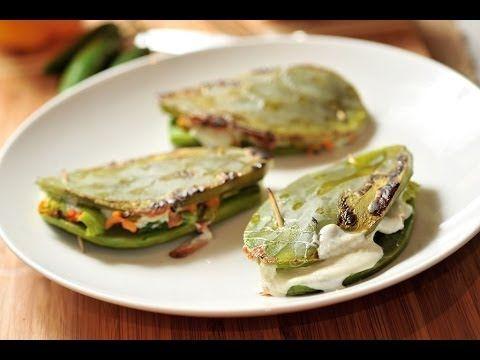 Nopales rellenos - Recetas de cocina mexicana- Baked nopales, subido por: Xochipitzahuatl Miztli
