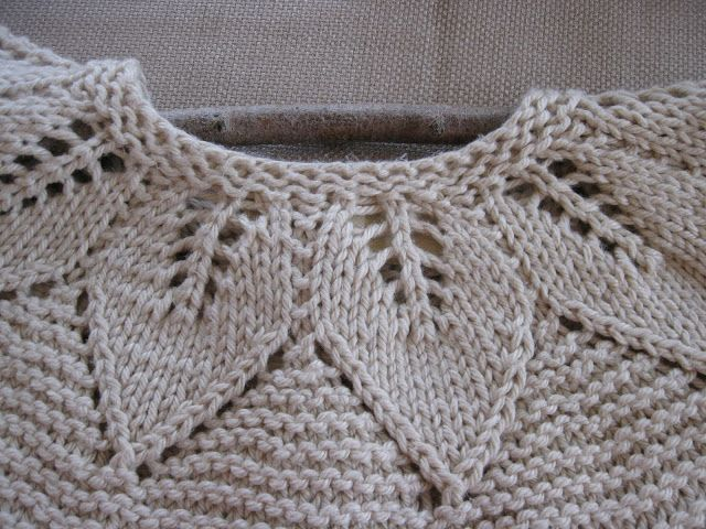 lace and leafe sweater - Google Search