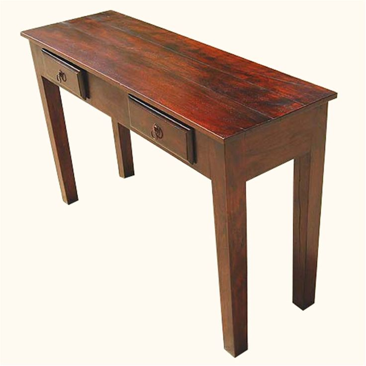 Image Result For Slim Console Tables In Natural Steel