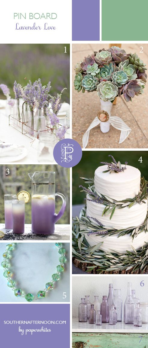 Lavender Love by Paperwhites, a stationery boutique, from our blog www.southernafternoon.com