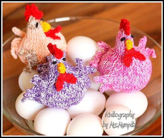 Spring Chicks Knitting pattern suitable for by MumpitzDesign